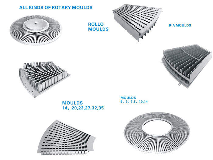 Rotary Ice Cream Moulds, Rollo Mould