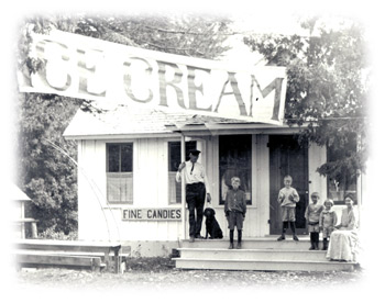 First Ice Cream Parlor In America