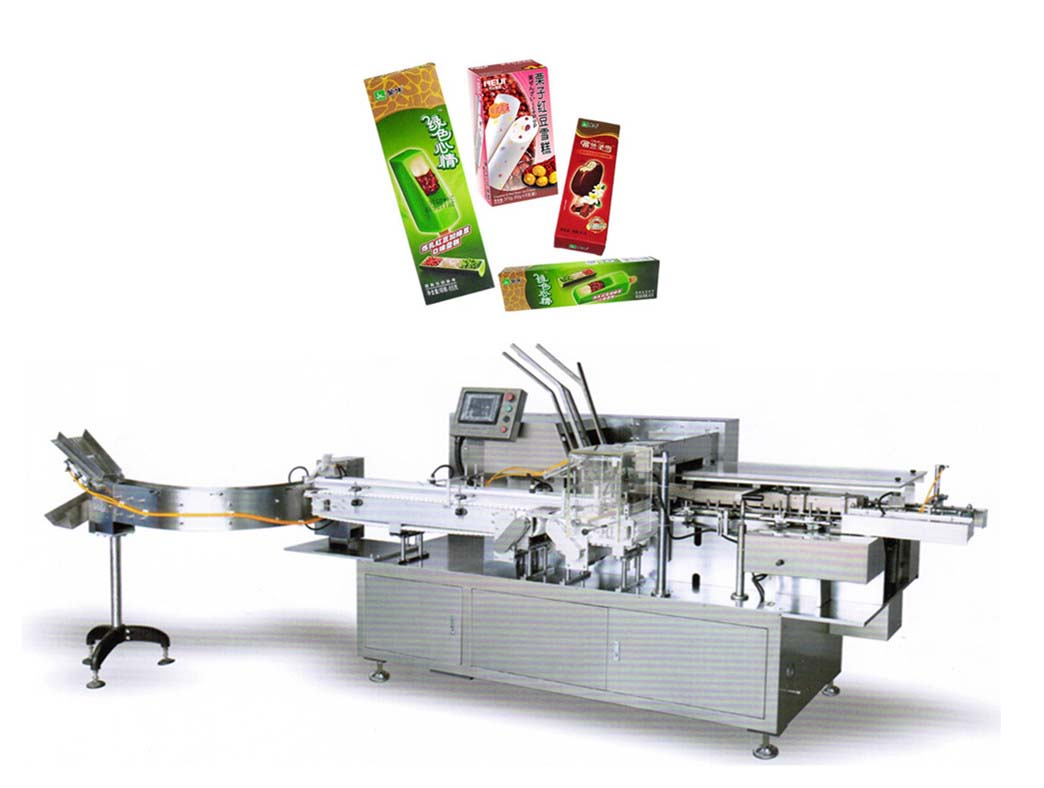 Automatic Ice Cream Boxing machine,snowballmachinery.com