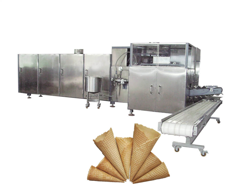 Ice cream cone baking machine, snowballmachinery.com