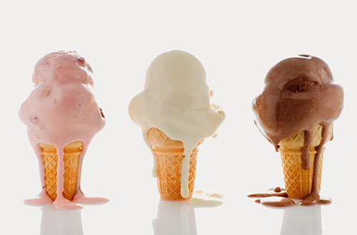 Meltdown Behavior Can Measure the Quality of Ice Cream