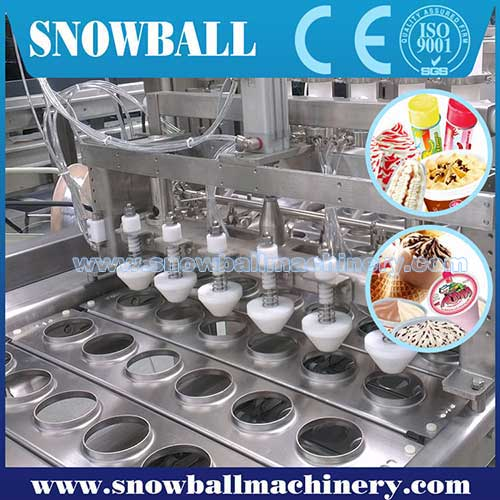 Ice Cream Filling Machine - Improve the Efficiency of Ice Cream Factory