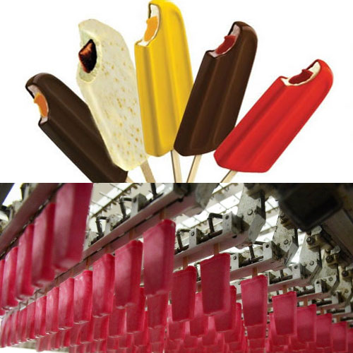 Popsicle Production Technology - Add Material into Ice Pops