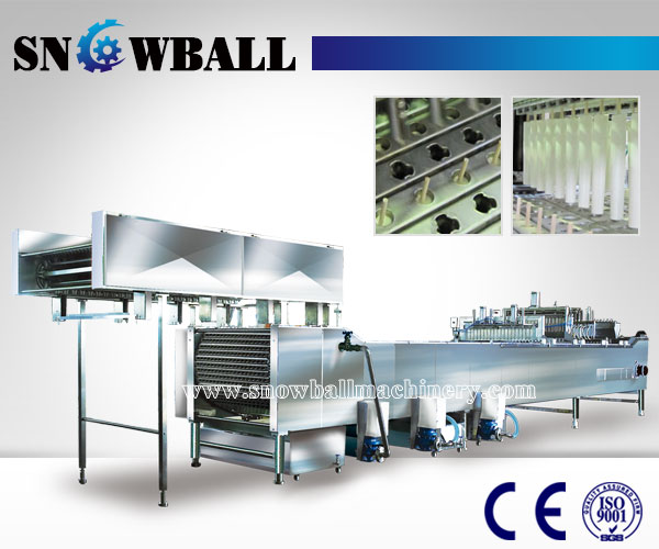 linear stick ice cream machine,ice lolly making machine, www.snowballmachinery.com