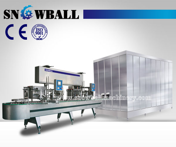 extrusion ice cream machine,ice cream extrusion line, snowballmachinery.com